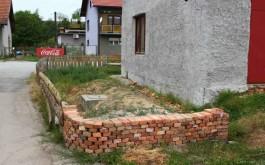 Izgrađeni kameni vrt