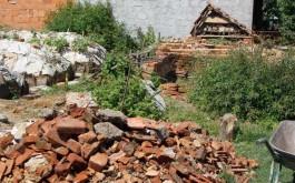 Sortirana šuta  i gradnja povišene gredice