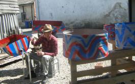 poznati slikar na gostovanju